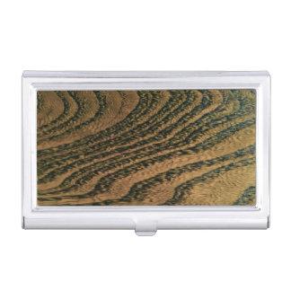 Porte-cartes De Visite Grain en bois chaud