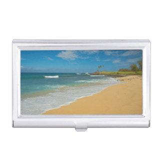 Porte-cartes De Visite Les Etats-Unis, Hawaï, île de Molokai, plage de