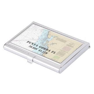 Porte-cartes De Visite Longitude nautique de latitude de Punta Gorda la