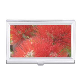 Porte-cartes De Visite Porte-cartes de carte de visite hawaïen de fleur