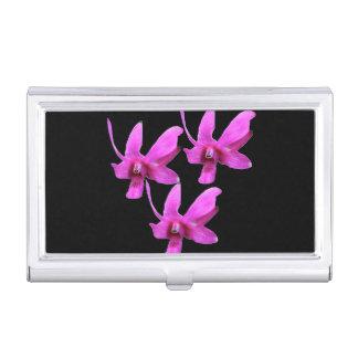 Porte-cartes De Visite Porte-cartes de carte de visite - orchidée de