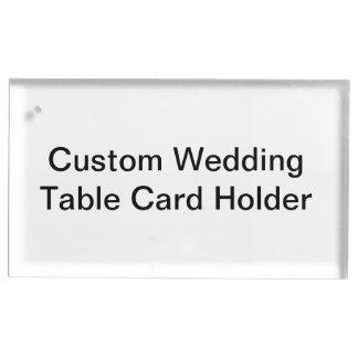 Porte-cartes fait sur commande de Tableau de Porte-cartes De Table