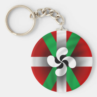 Porte - clé Basque de drapeau Porte-clés
