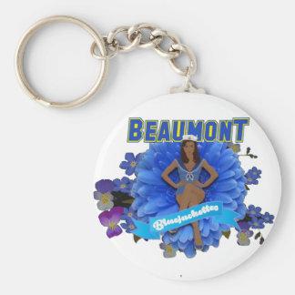 Porte - clé de base de bouton de Beaumont Porte-clés