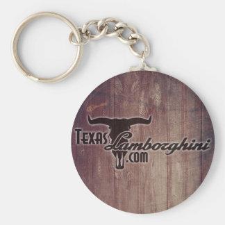 Porte - clé de bouton du Texas Lamborghini Porte-clé Rond