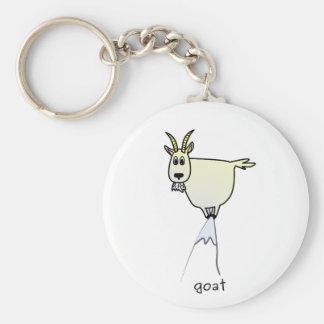Porte - clé de chèvre de montagne porte-clés