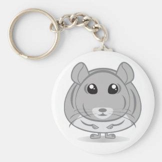 Porte - clé de chinchilla porte-clés
