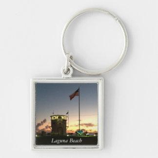 Porte - clé de coucher du soleil de Laguna Beach Porte-clés