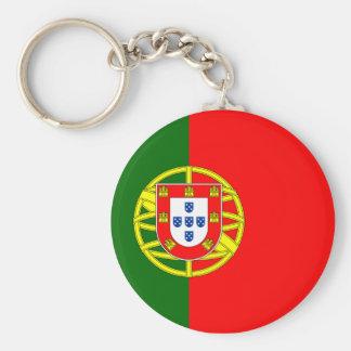 Porte - clé de drapeau du Portugal Porte-clés