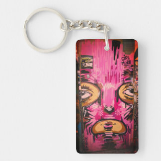 Porte - clé de foule de fille porte-clés