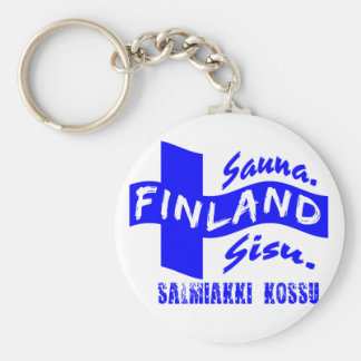 Porte - clé de la Finlande Porte-clés