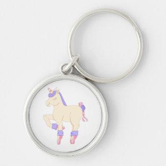 Porte - clé de licorne de ballet porte-clés