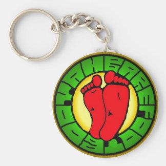 porte - clé de logo de bbooyah porte-clé rond
