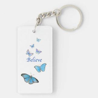 Porte - clé de papillons porte-clés