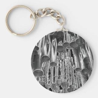 """Porte - clé """"de tuyaux métalliques"""" porte-clés"""