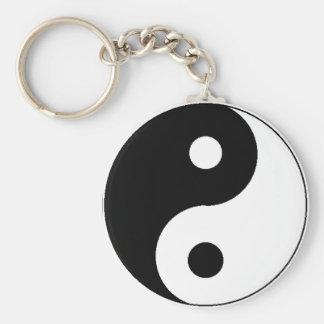 Porte - clé de Ying Yang Porte-clé Rond