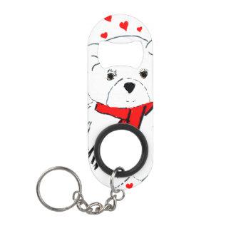 Porte-clé Décapsuleur amour d'ours de nounours