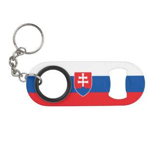 Porte-clé Décapsuleur Drapeau de la Slovaquie