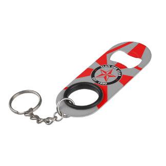 Porte-clé Décapsuleur Ouvreur de bouteille de vitesse du claquement un