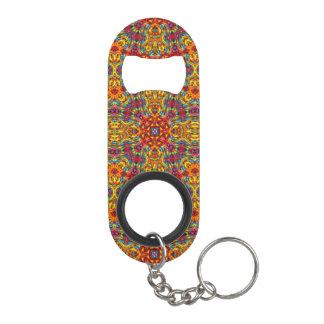 Porte-clé Décapsuleur Ouvreurs de bouteille bizarres de kaléidoscope de