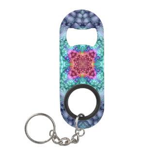 Porte-clé Décapsuleur Ouvreurs   de bouteille bleus super de