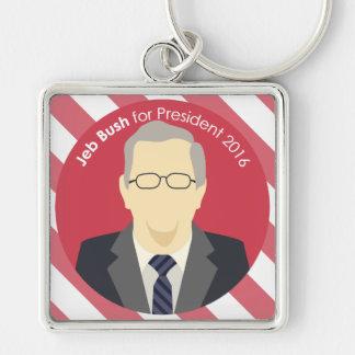 Porte - clé d'élection présidentielle de Jeb Bush Porte-clés