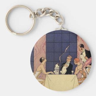 Porte - clé dinant fin d'art déco porte-clés