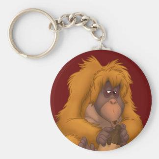 Porte - clé d'orang-outan de Maïs-Cruche-Playin' Porte-clés