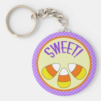 Porte - clé doux de bonbons au maïs à Halloween Porte-clés