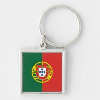 porte - clé du Portugal Porte-clé Carré Argenté