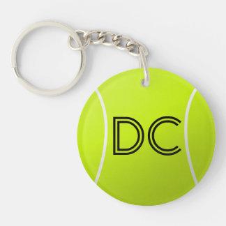 Porte - clé fait sur commande d'initiales ou de porte-clé rond en acrylique double face