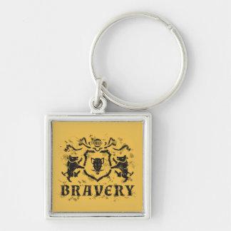 Porte - clé héraldique de verrat d'encre porte-clés