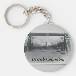 Porte - clé historique de Colombie-Britannique Porte-clés