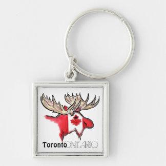 Porte - clé local de drapeau de Toronto Ontario Porte-clés