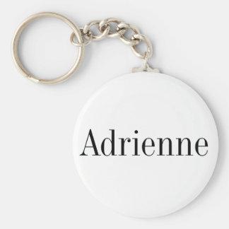 Porte - clé nommé d'Adrienne Porte-clé Rond