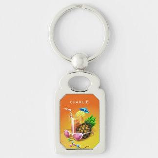 Porte - clé nommé fait sur commande de boissons porte-clés