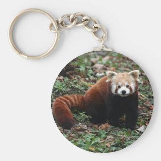 Porte - clé - panda rouge 2 porte-clé rond