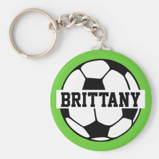 Porte - clé personnalisé de ballon de football porte-clés