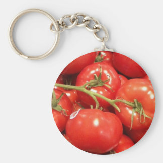 Porte - clé rouge de tomate porte-clés