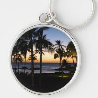 Porte - clé tropical de destination porte-clés
