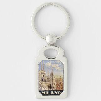 Porte - clé vintage de Milan Milan Italie Porte-clés