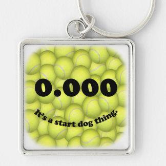 Porte-clés 0,000, le début parfait, c'est une chose de chien
