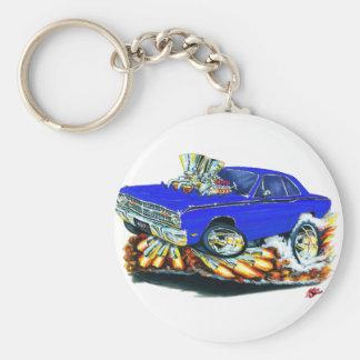 Porte-clés 1968-71 voiture de bleu de dard de Dodge