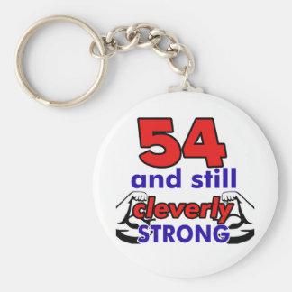 Porte-clés 54 et toujours abilement fort