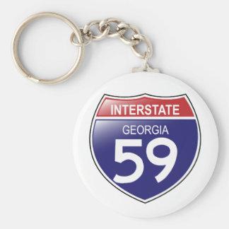 Porte-clés 59 d'un état à un autre dans le porte - clé de la