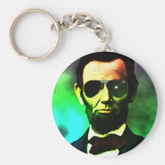 Porte-clés Abraham Lincoln