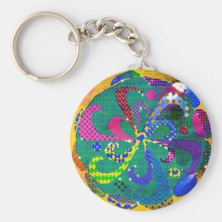 Porte-clés Abrégé sur mandala