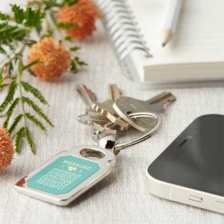 Porte-clés Accès de porte - clé d'affection