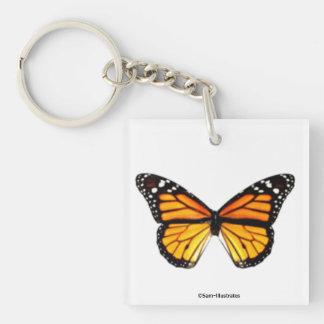 Porte-clés Accessoire de porte - clé de papillon de monarque