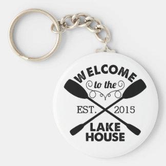 Porte-clés Accueil à la Chambre de lac